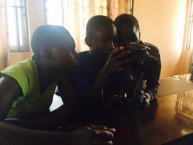 Youth camera workshop